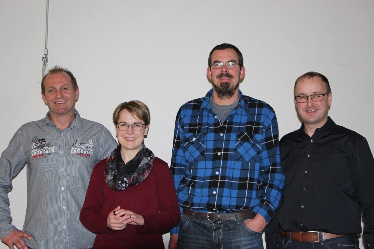 Beförderungen zum Wm: Michael Fischer, Carmen Wicki & Matthias Boog