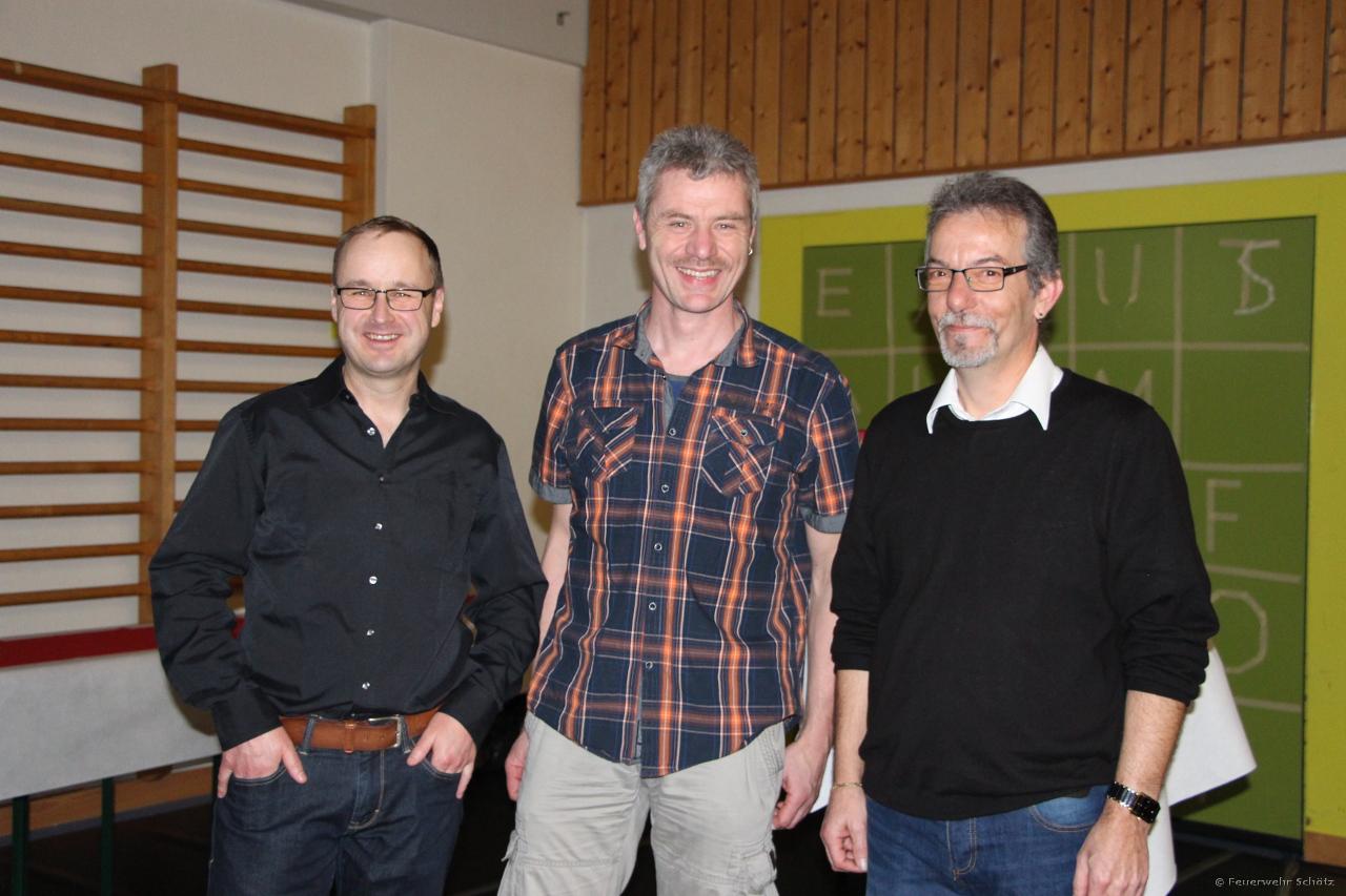 Unsere Veteranen: Roger Frey, Reto Hürlimann, Armin Frey
