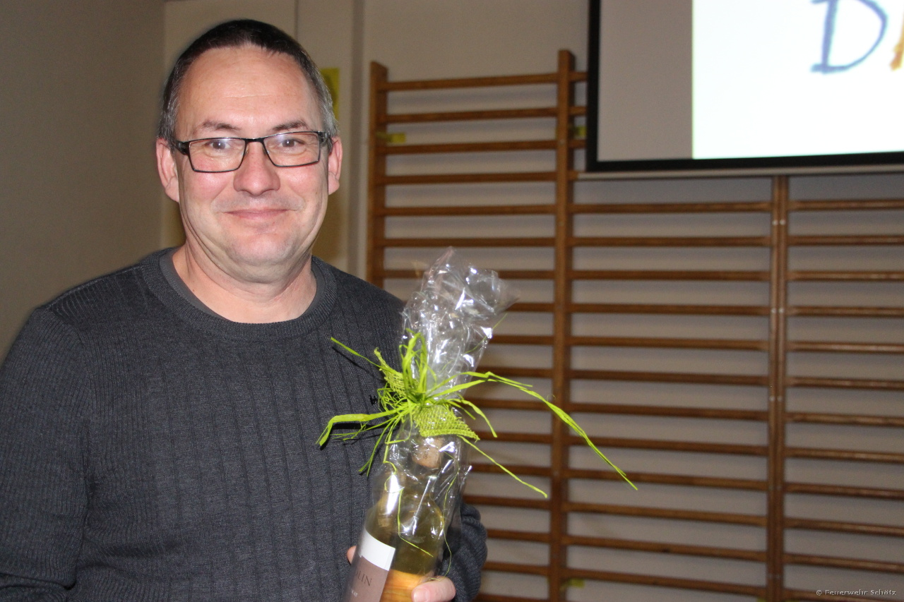 Ein herzliches Dankeschön an unseren Hydrantenwart Thomas Wanner